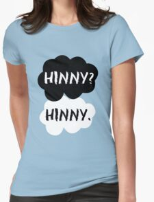 Hinny (Harry&Ginny) - TFIOS Womens Fitted T-Shirt