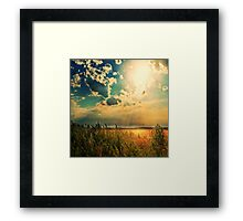 When The Angels Dance Framed Print