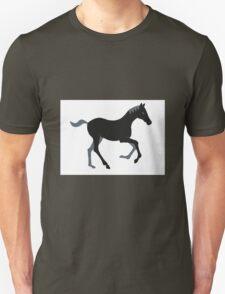 Black Pony Unisex T-Shirt