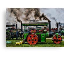 Riverside Steam Rally Canvas Print