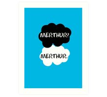 Merthur - TFIOS Art Print