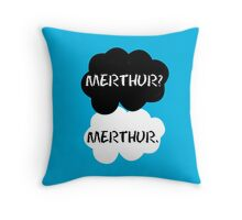 Merthur - TFIOS Throw Pillow