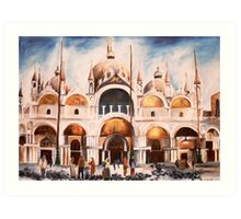 San Marco Cathedral, Venice, Italy Art Print