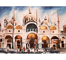 San Marco Cathedral, Venice, Italy Photographic Print