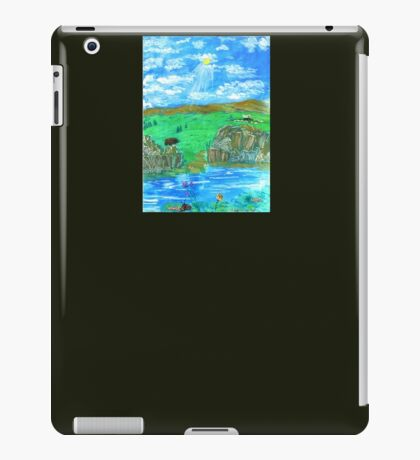 Early Pioneer Days iPad Case/Skin
