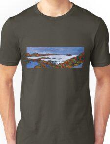 Derrynane Bay Panorama, Kerry - Ireland Unisex T-Shirt