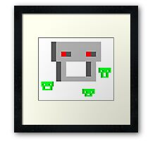 Indies VS Gamers 2084 - Hildegard & Wendy Framed Print