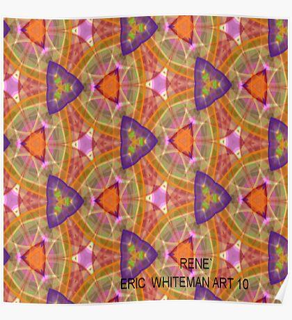 ( RENE`)  ERIC WHITEMAN  ART   Poster