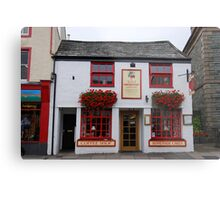 Coffee Shop Keswick Metal Print