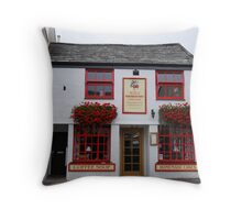 Coffee Shop Keswick Throw Pillow