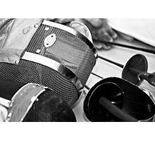 Fencing Equipment Photographic Print