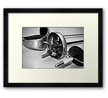 Fencing Swords Framed Print