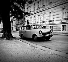 """Trabant"" in Prague - 2009 by Luca Tranquilli"