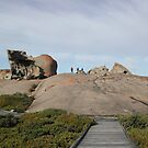 Remarkable Rocks, Kangaroo Island, Australia by Teuchter