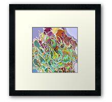 ( OVEN  )  ERIC WHITEMAN  ART Framed Print