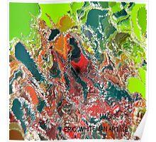 ( MAGIC )  ERIC  WHITEMAN  ART   Poster