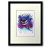 Epic Haunter Streetart Tshirts + More ' Pokemon ' Jonny2may Framed Print