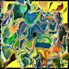 ( DON`T PUSH  ME )    ERIC  WHITEMAN ART  by eric  whiteman