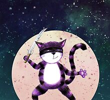 NINJA CAT by GingerPigg