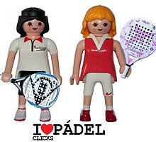 Playmobil padel girl by odisha