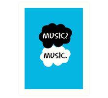 Music - TFIOS  Art Print
