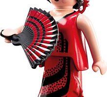 Playmobil flamenca by odisha