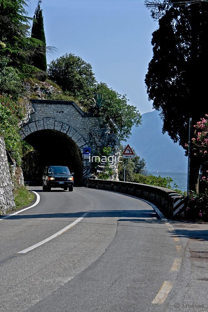 Lake Garda - Roads and tunnels by imagic