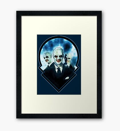 The Gentlemen: Buffy The Vampire Slayer  Framed Print