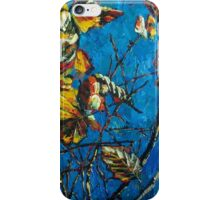 Golden Leaves III iPhone Case/Skin