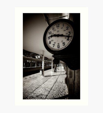 Sintra Railway Station Art Print