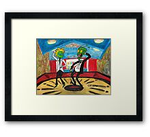 ZEEK in PULPy FICTION Framed Print