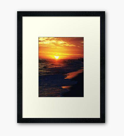 Orange..... Framed Print
