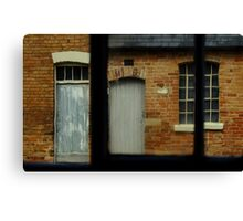 The Workhouse Yard Canvas Print