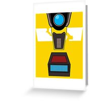CL4P-TP Face Greeting Card
