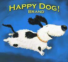 Happy Dog Brand by BobMcMahon