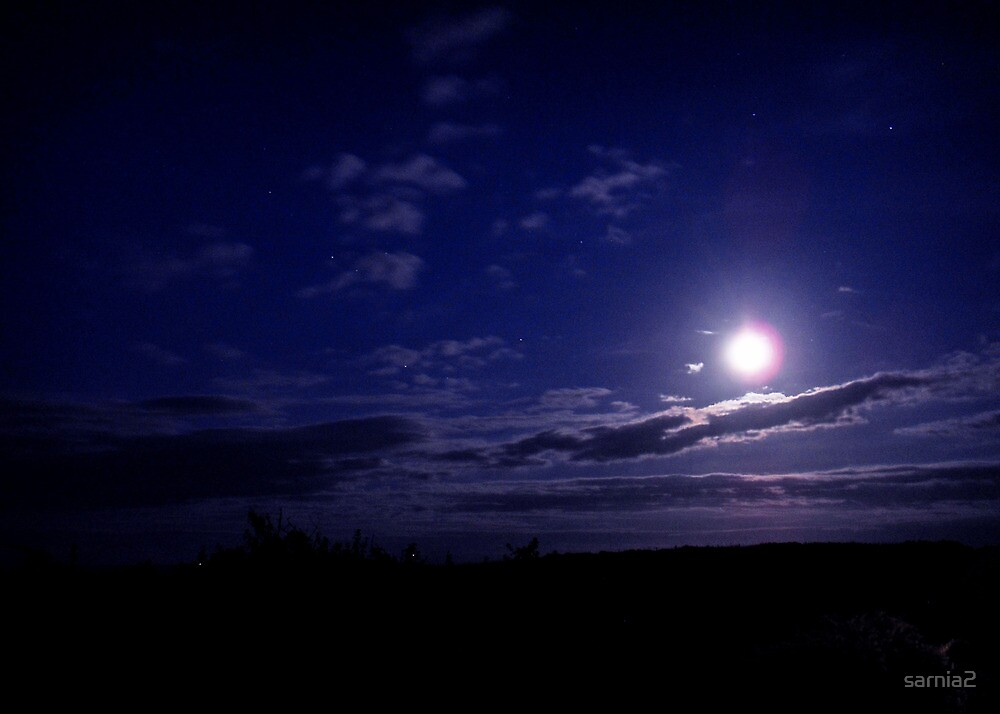 Moonlight Serenity over Monreith by sarnia2