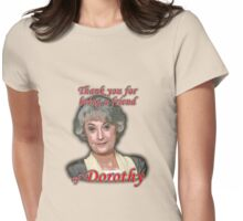 Friend of Dorothy Womens Fitted T-Shirt