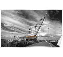 Ryde a big crane..! Poster