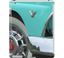 1955 Ford Fairlane Hotrod with Cadillac Hubcaps iPad Case/Skin