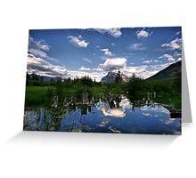 Vermillion Lakes, Banff NP Greeting Card