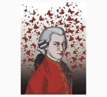 Wolfgang Amadeus Mozart Baby Tee