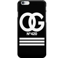 OG N°420 iPhone Case/Skin