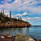 Arch at Tettegouche State Park by by Marvil LaCroix