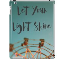 Let Your Light Shine (Fair) iPad Case/Skin