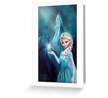 Elsa Frozen Greeting Card