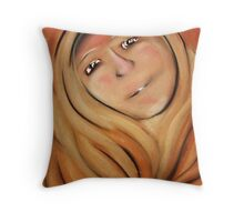 Wise old lady Throw Pillow
