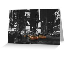 T SQUARE NYC Greeting Card