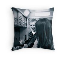 Crew member Throw Pillow