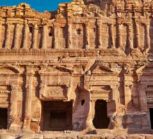 Palace Tomb in Nabataean ancient town Petra Sticker