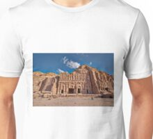 Palace Tomb in Nabataean ancient town Petra Unisex T-Shirt